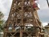 Der Abbau der Mühle. September2010