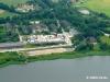 Der neue Standort der Mühle, ein ehemaliges Kasernengelände in Schleswig auf der Freiheit. Juni 2011
